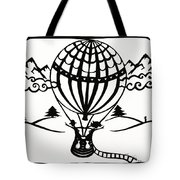 June In A Balloon Tote Bag