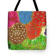 June Is Bloomin' Tote Bag