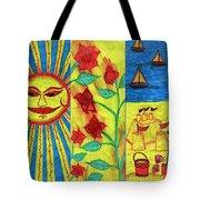 June July August Tote Bag