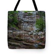 June Morning At Awosting Falls Tote Bag