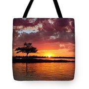June Sunset At Detroit Point Tote Bag