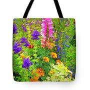 Juneau Has Flowers Tote Bag