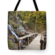 Juney Whank Falls And A Place To Rest Tote Bag