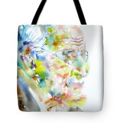 Jung - Watercolor Portrait.4 Tote Bag