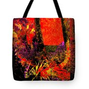 Jungle At The Corner Of Concha And Laconia Tote Bag by Eikoni Images