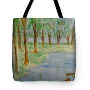 Jungle-brookside Tote Bag