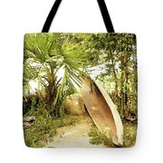 Jungle Canoe Tote Bag