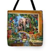 Jungle Coming Tote Bag