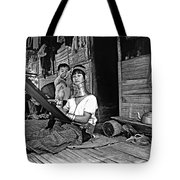 Jungle Crafts Bw Tote Bag
