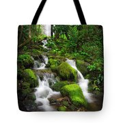 Jungle Falls Tote Bag