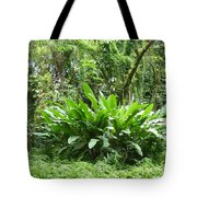 Jungle Fronds Tote Bag