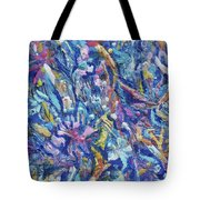 Jungle Garden Tote Bag