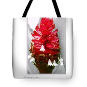 Jungle King Ginger Tote Bag