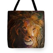 Jungle Lion Tote Bag