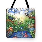 Jungle One Tote Bag