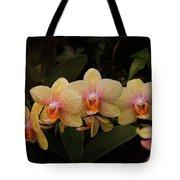 Jungle Orchids Tote Bag
