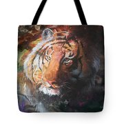 Jungle Tiger Tote Bag