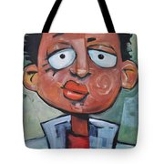 Junior Artist Sans Crayon Hair Tote Bag