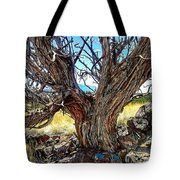 Juniper Monarch Tote Bag