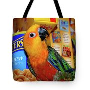 Junk Food Junkie Caught Tote Bag