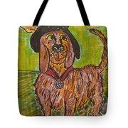 Junk Yard Dog Tote Bag