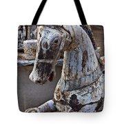 Junkyard Horse Tote Bag