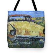 Junkyard Packard Tote Bag by David King