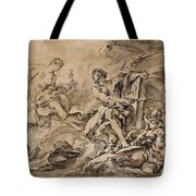 Juno Asking Aeolus To Release The Winds Tote Bag