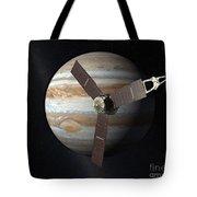Juno Mission To Jupiter Tote Bag