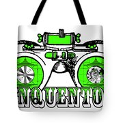Junquentoys Test Pattern Goggles Tote Bag