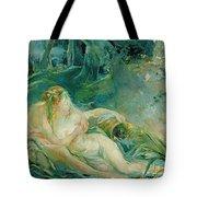 Jupiter And Callisto Tote Bag