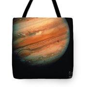 Jupiter, Europa, & Io Tote Bag