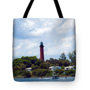 Jupiter Inlet Florida Tote Bag