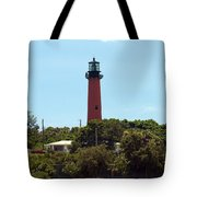 Jupiter Inlet Light Tote Bag