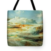 Jupiter Terrace  Yellowstone Tote Bag