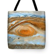 Jupiterian Storm Of The Century Tote Bag