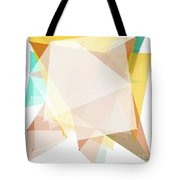 Jura Polygon Pattern Tote Bag