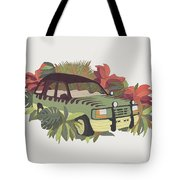 Jurassic Car Tote Bag