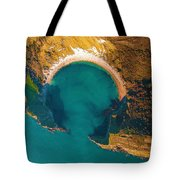 Jurassic Coast From The Air Tote Bag