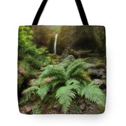 Jurassic Forest Tote Bag