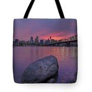 Jurassic Sunset Tote Bag