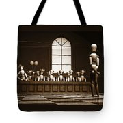 Jury Of Your Peers Tote Bag by Bob Orsillo
