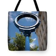 Just A Blue Hole Now Tote Bag