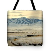 Just A Little Snow Tote Bag