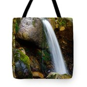 Just A Very Small Waterfall II Tote Bag
