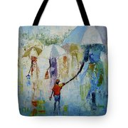 Just After A Heavy Rain Fall Tote Bag