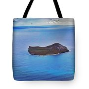 Just An Island Away Tote Bag