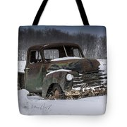 Just An Old Pickup Truck Tote Bag