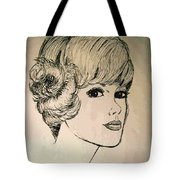 Just Another Pretty Face Tote Bag