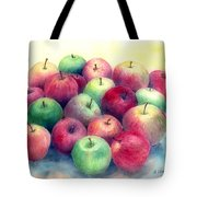 Just Apples Tote Bag